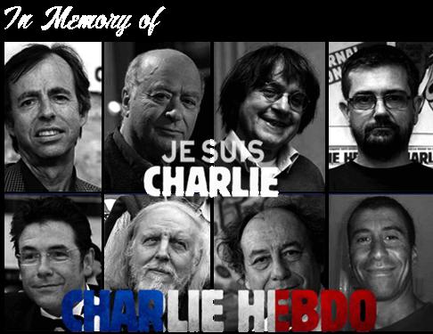 Memory of Jesuis Charlie