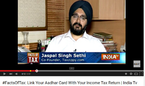 #FactsOfTax: Link Your Aadhar Card With Your Income Tax Return | India Tv