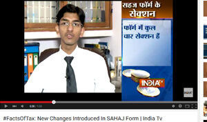 #FactsOfTax: New Changes Introduced In SAHAJ Form | India Tv
