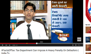 #FactsOfTax: Tax Department Can Impose A Heavy Penalty On Defaulters | India Tv