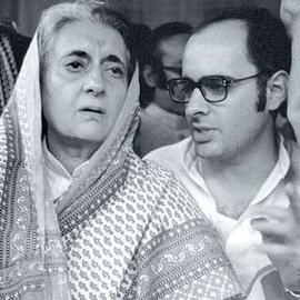 राजनीति में मां का साया